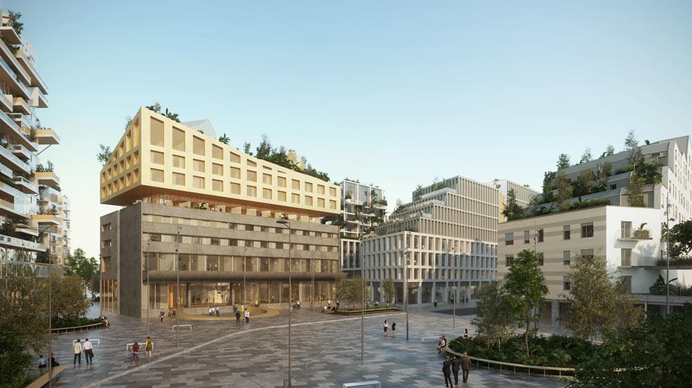 Habitat participatif quartier euratlantique for Appartement bordeaux euratlantique