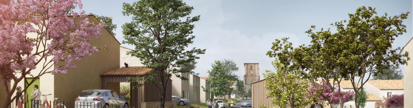 Nérigean, Le Bourg, France 33750, 2 Chambres Chambres, ,1 Salle de bainsSalle de bain,Maison,Habitat Participatif,1298