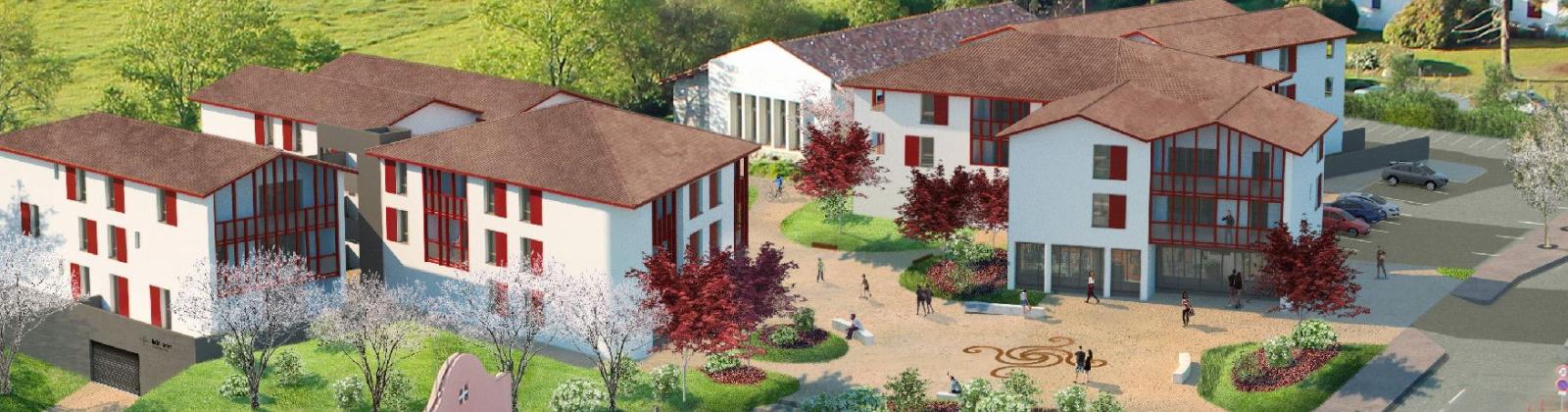 Quartier Arrauntz, Ustaritz, France 64480, 1 Chambre Chambres,Bureau,Volume amenageable,Quartier Arrauntz,1332